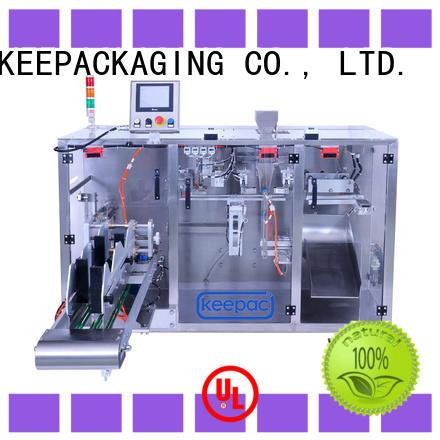 Keepac efficient milk powder packing machine manufacturer for standup pouch