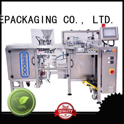Keepac adjustable chips packaging machine factory direct for beverage