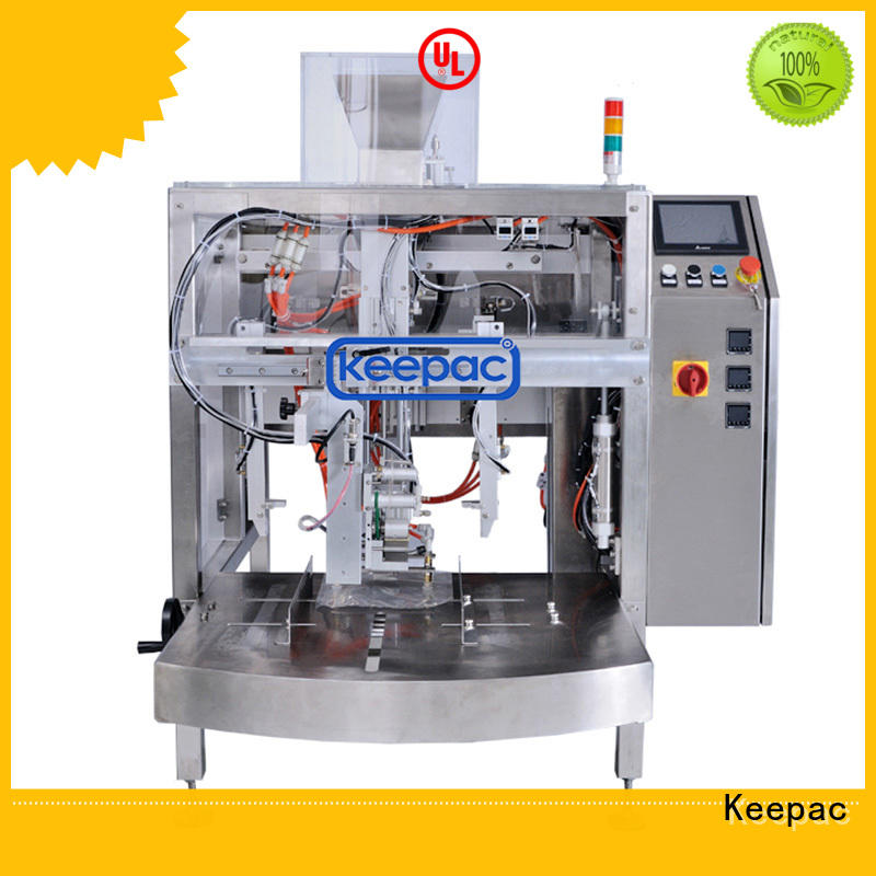 Keepac cost-effective automatic grain packing machine wholesale for pre-openned zipper pouch