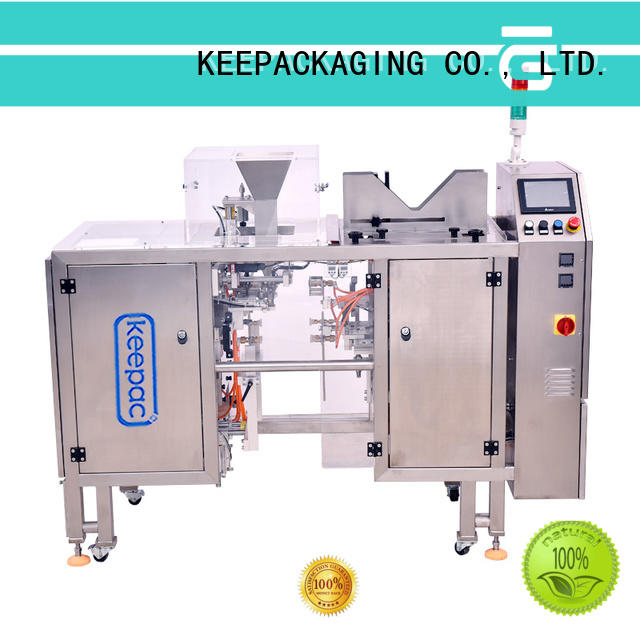 Keepac mini candy packaging machine factory direct for food
