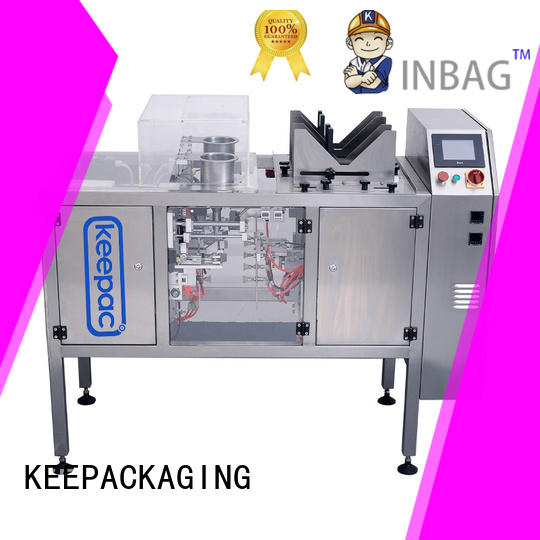 Keepac quick release doypack packaging machine factory direct for pre-openned zipper pouch