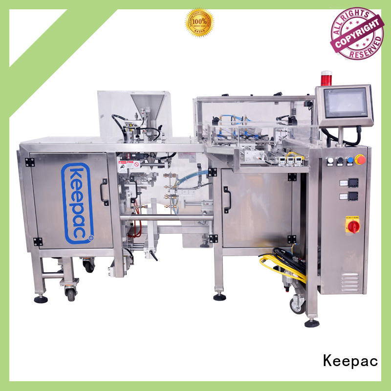 Keepac adjustable snack food packaging machine customized for beverage