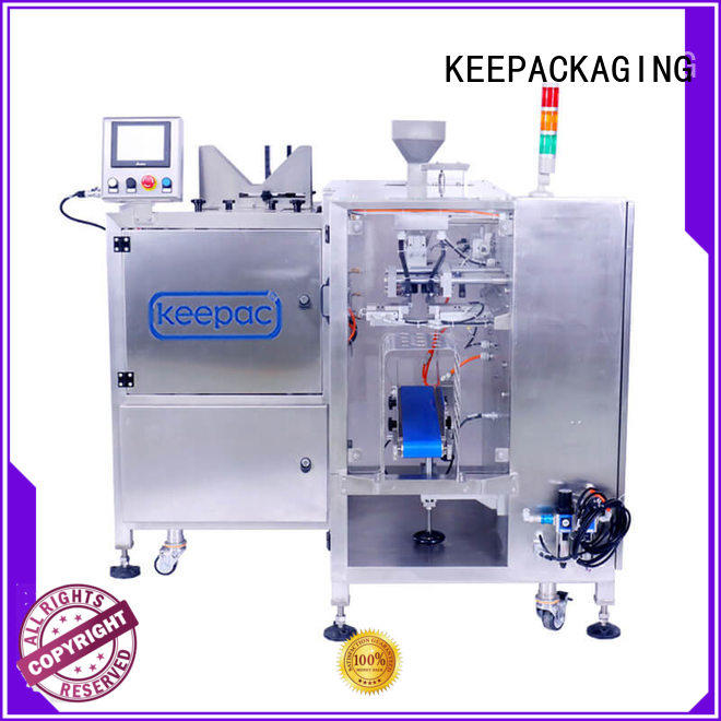 Keepac quick release chips packaging machine wholesale for beverage