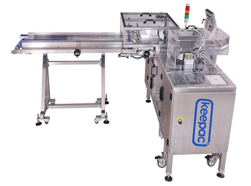 Keepac multi bag format food packaging machine customized for pre-openned zipper pouch-3