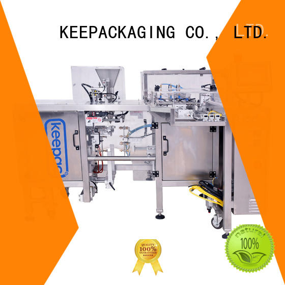 Keepac efficient chips packaging machine wholesale for pre-openned zipper pouch