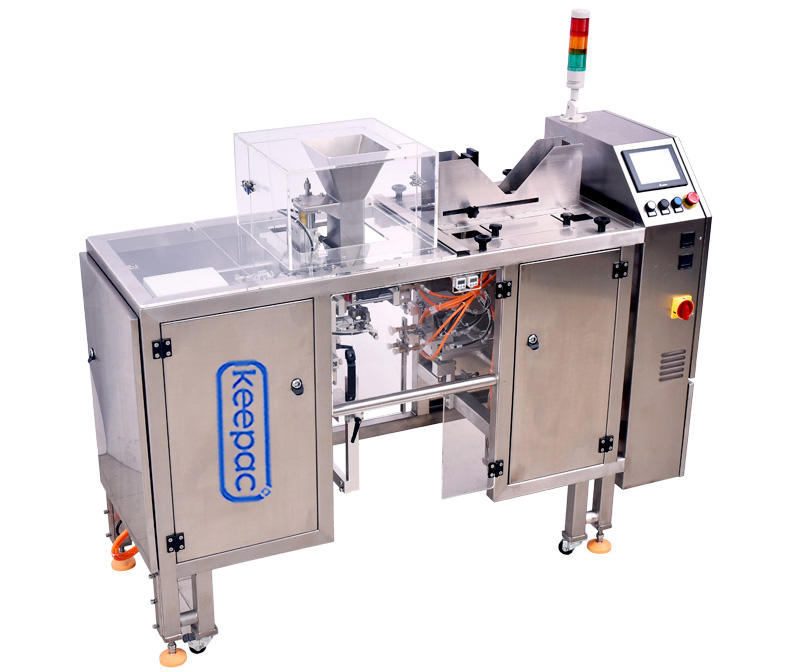 Keepac low cost chips packaging machine customized for pre-openned zipper pouch-1