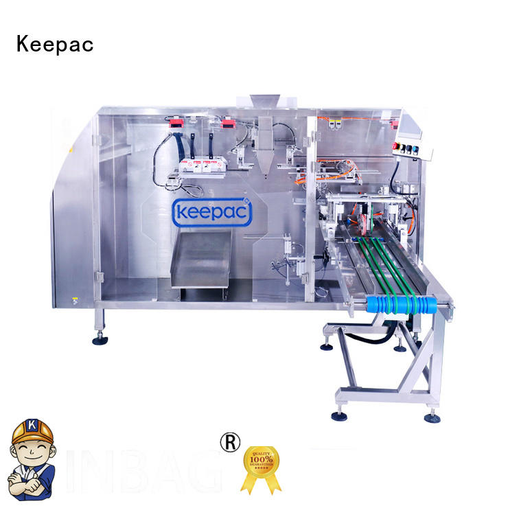 stand pouch packing machine 8 inches for zipper bag Keepac