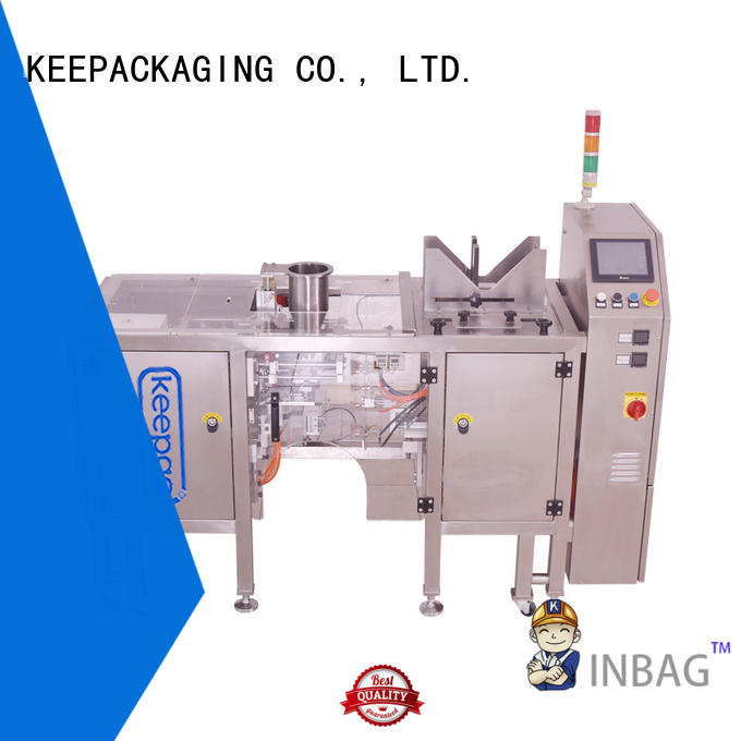 Keepac different sized snack food packaging machine factory for beverage
