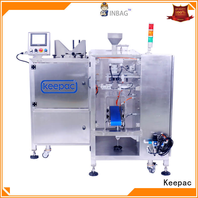 Keepac low cost automatic grain packing machine wholesale for pre-openned zipper pouch