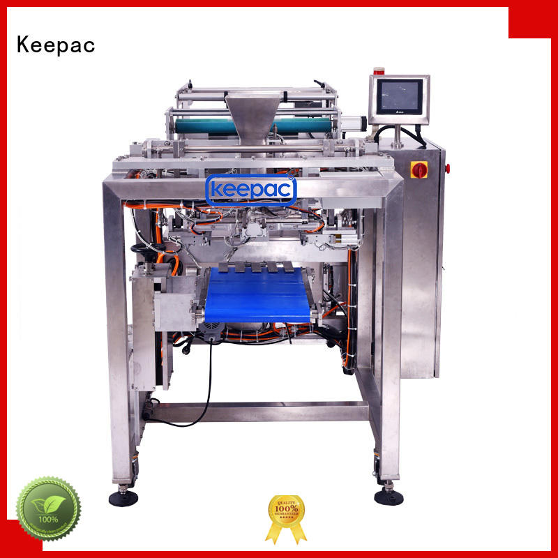 low cost biscuits packing machine straight flow design customized for zipper bag