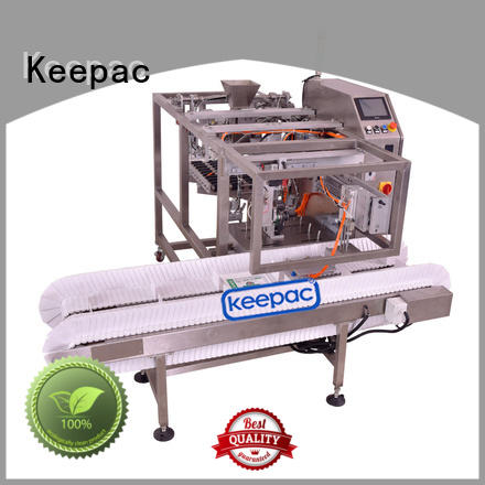 Keepac different sized automatic grain packing machine factory direct for pre-openned zipper pouch