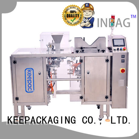 professional product packaging machine wholesale for pre-openned zipper pouch