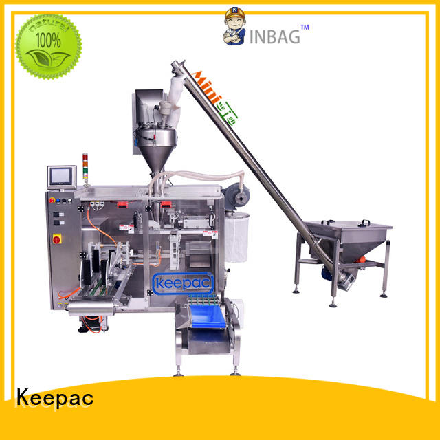 Keepac linear automatic powder packing machine design for standup pouch