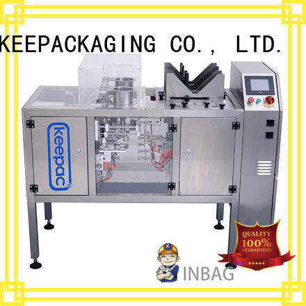 Keepac Custom mini doypack machine for business for food