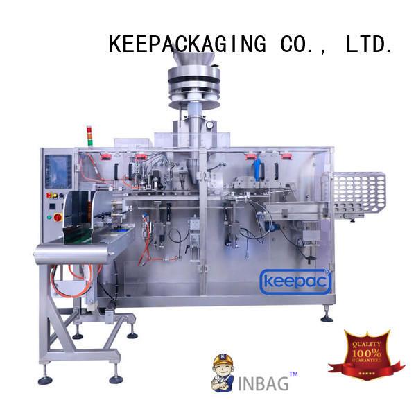 Keepac corner industrial packing machine factory for beverage