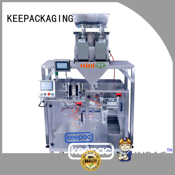 powder pouch packing machine duplex for food Keepac