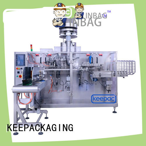 Keepac multi bag format dry food packing machine factory for beverage