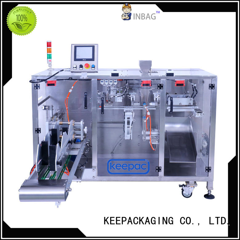 convenient form fill seal machine duplex design for food