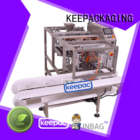 Keepac quick release food packaging machine factory direct for beverage