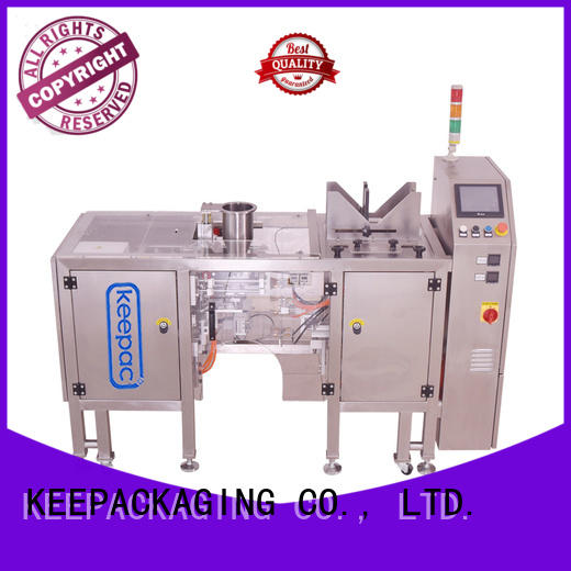 adjustable noodles packing machine manufacturing for pre-openned zipper pouch Keepac