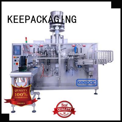 Keepac filler packaging machine design factory for beverage
