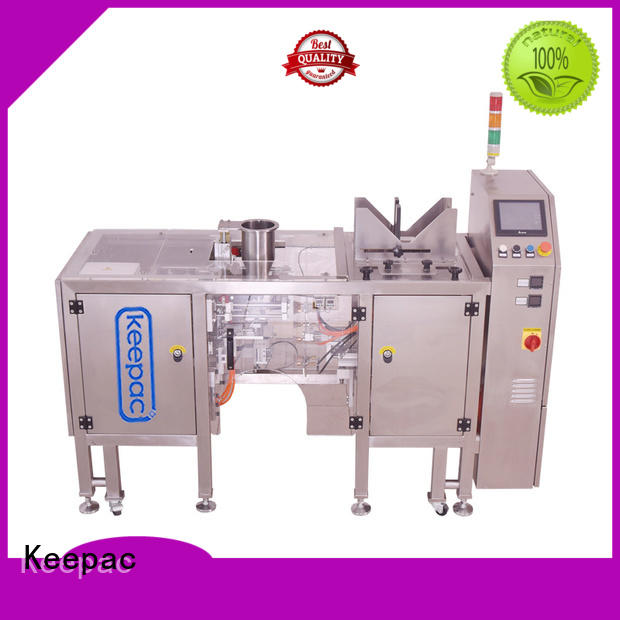 Keepac different sized doypack machine wholesale for pre-openned zipper pouch
