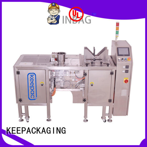 Keepac different sized automatic grain packing machine customized for food