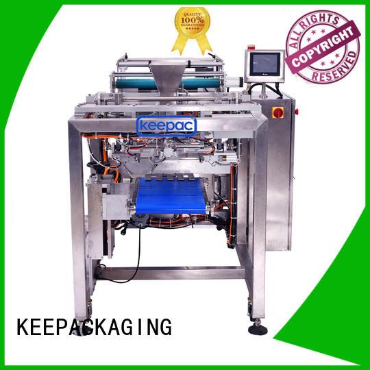 food packing machine easy running for zipper bag Keepac