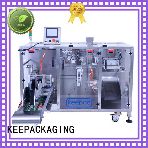 New powder pouch packing machine duplex manufacturers for zipper bag