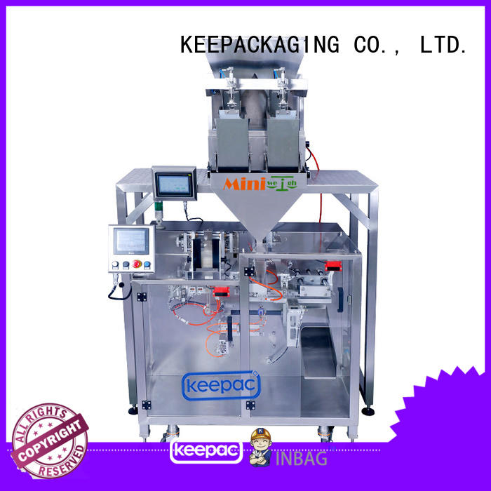Keepac high quality form fill seal machine supplier for food