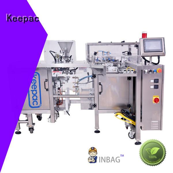 Keepac adjustable snack food packaging machine manufacturing for beverage