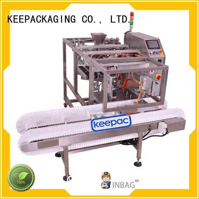 low cost automatic grain packing machine quick release wholesale for pre-openned zipper pouch