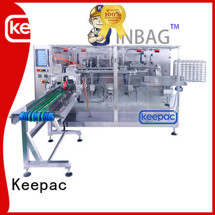 spout industrial packaging machines manufacturer for beverage Keepac