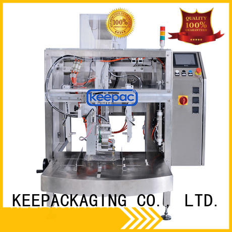 different sized doypack machine customized for food