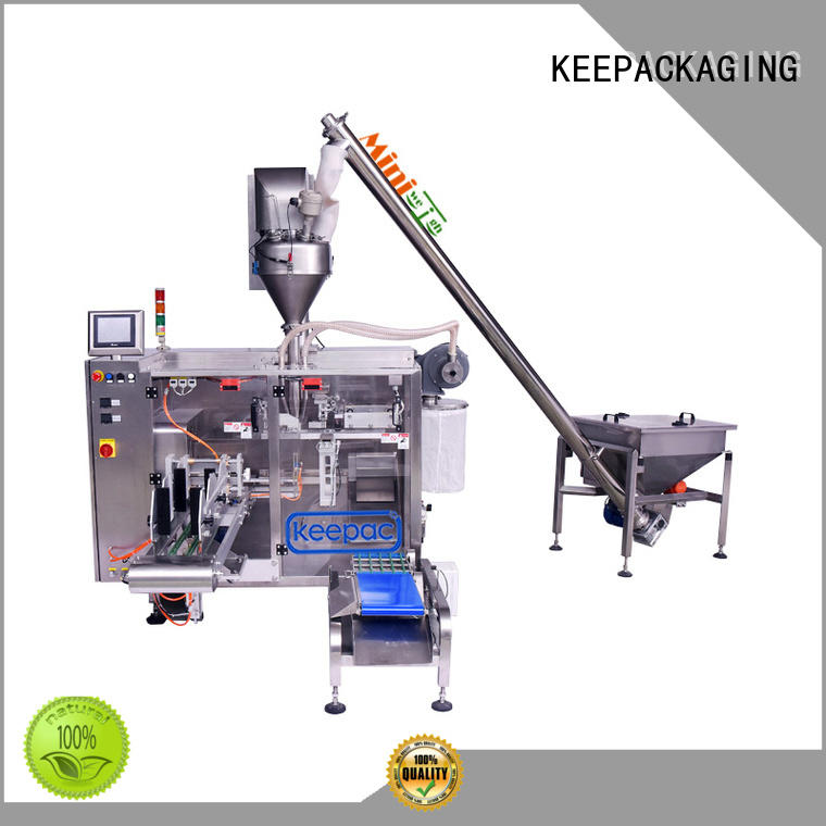Keepac professional seal packing machine 8 inches for standup pouch