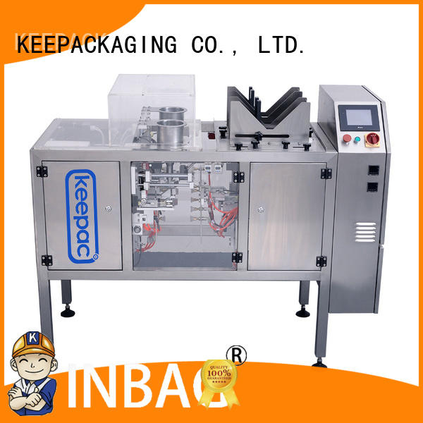Keepac automatic fully automatic packing machine multi bag format for food