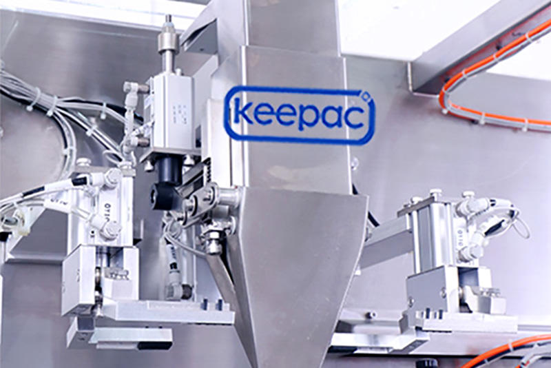 Keepac 8 inches juice pouch packing machine wholesale for standup bag-3