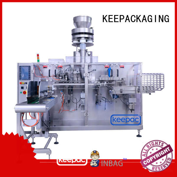 Keepac high quality horizontal packing machine manufacturer for food