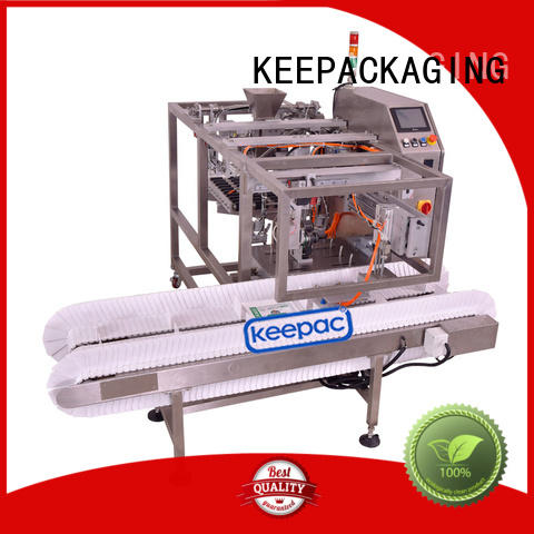 mini chips packaging machine customized for pre-openned zipper pouch