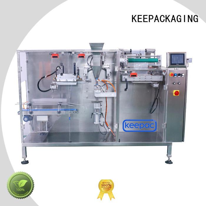 Keepac corner horizontal packing machine supplier for food