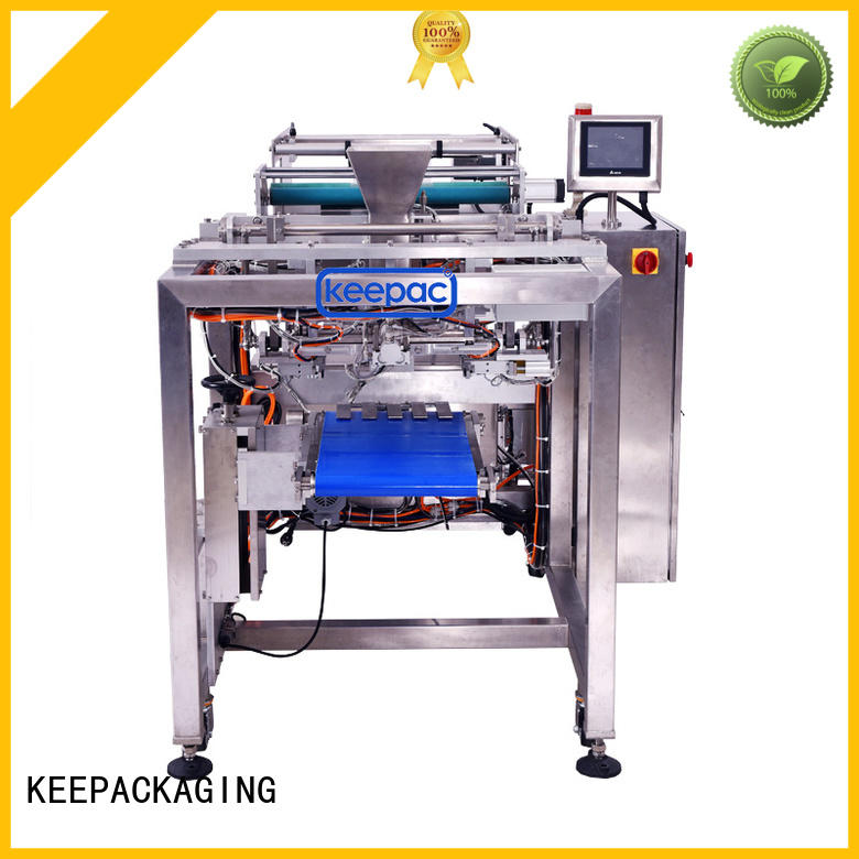 easy quality running Keepac Brand automatic rice packing machine factory
