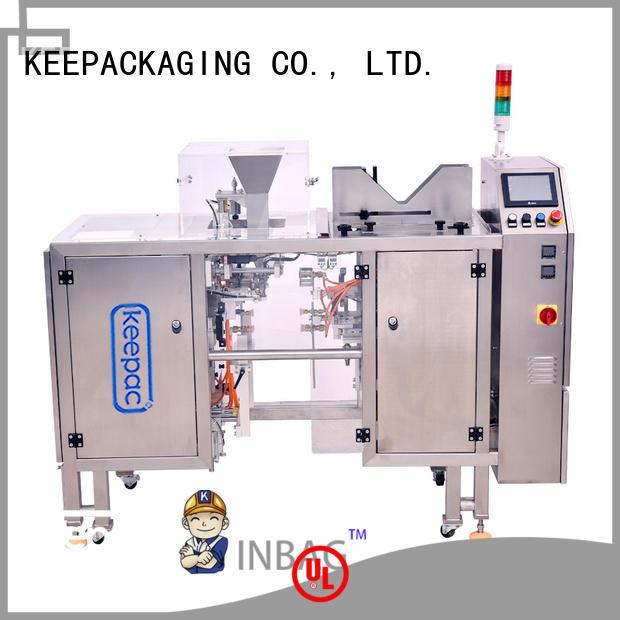 Keepac multi bag format food packaging machine factory direct for food