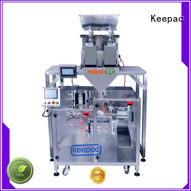 potato chips packing machine linear for standup pouch Keepac
