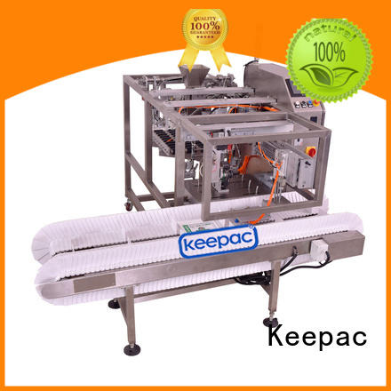 Keepac mini small food packaging machine factory direct for pre-openned zipper pouch