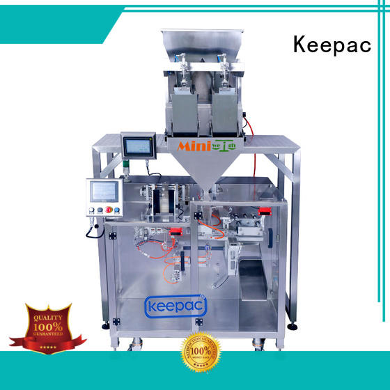 Keepac high quality horizontal form fill seal machine supplier for food