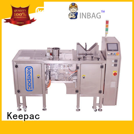 Keepac quick release automatic grain packing machine manufacturing for pre-openned zipper pouch