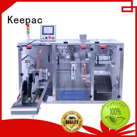 Keepac convenient form fill seal machine manufacturer for zipper bag