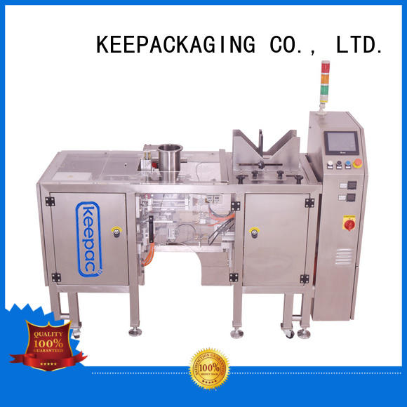 fully automatic packing machine quick release for pre-openned zipper pouch Keepac
