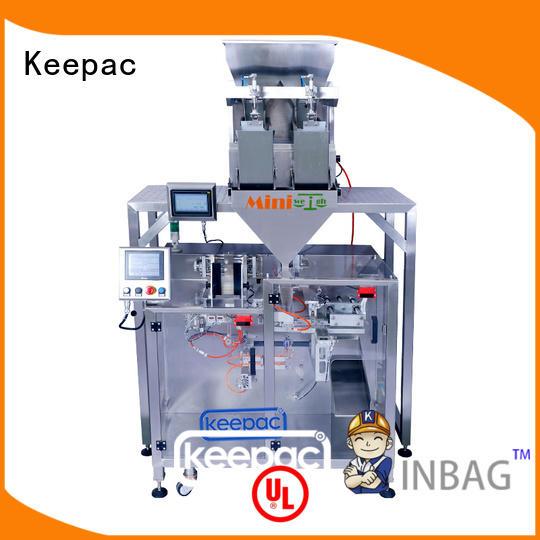 Keepac high quality pick fill seal machine manufacturer for zipper bag