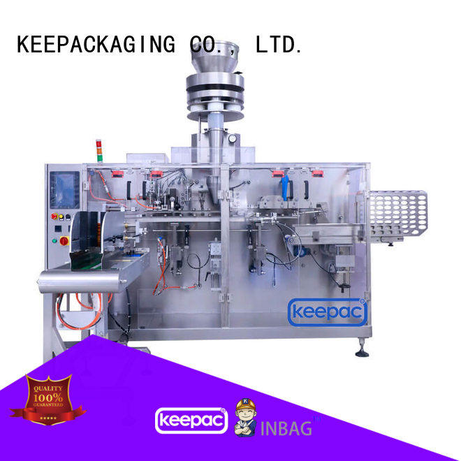 high quality horizontal packing machine staight flow design factory for food